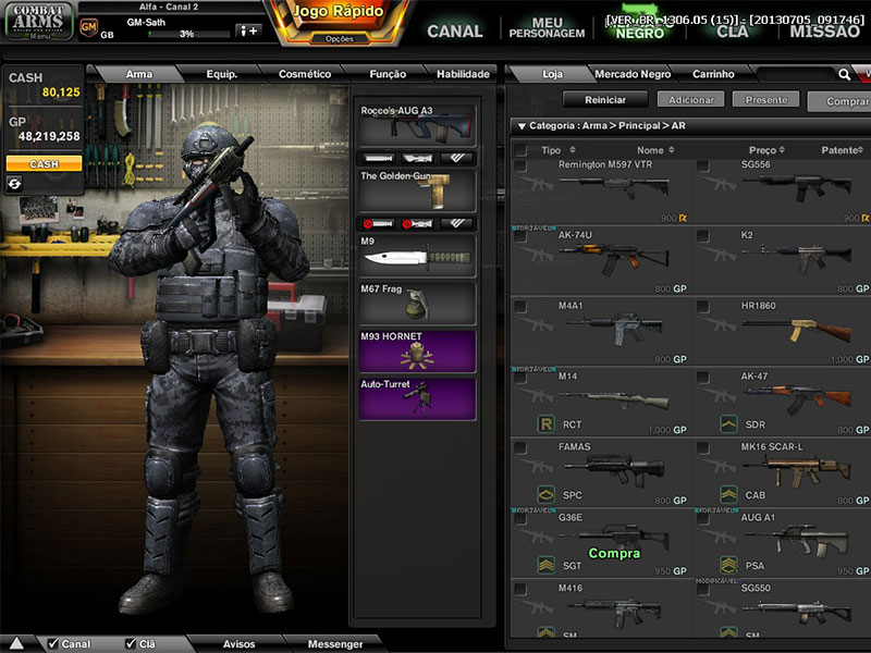 1000 free games combat arms