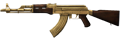 AK-47 Gold-Plated