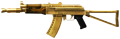 AK-74U Gold-Plated